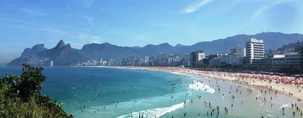 Várias praias em uma só Ipanema!